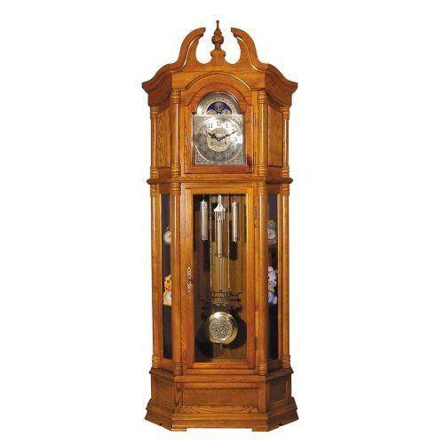 ACME 01410 Rissa Grandfather Clock, Oak Finish ACME https://www.amazon.com/dp/B005G4TEK2/ref=cm_sw_r_pi_dp_x_JcdTybM4ZMQ3K