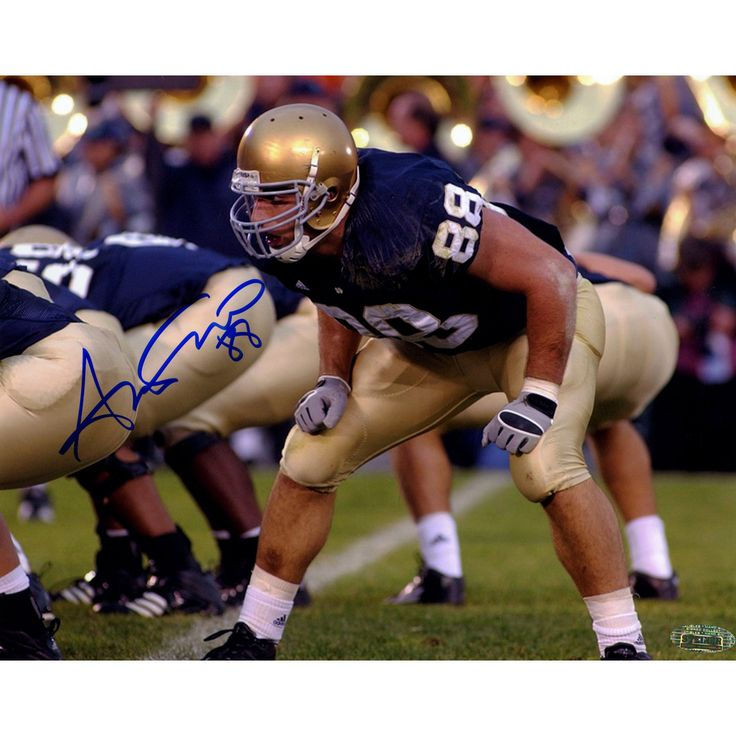Anthony Fasano Notre Dame At Line of Scrimage Horizontal 8x10 Photo - This 8x10 photo has been personally hand-signed by former Notre Dame football player Anthony Fasano. It would make a great addition to any fans collection.100% Guaranteed AuthenticIncludes Steiner Sports Letter of Authenticity Features Tamper-Evident Steiner Hologram. Gifts > Licensed Gifts > Ncaa > All Colleges > Notre Dame. Weight: 1.00