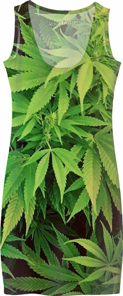 Weed Dress