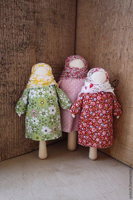 """Купить Куколка-погремушка-погремень-громница """"Потешка"""" - разноцветный, народная кукла, народная традиция, куколка"""