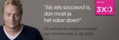 Alwin Zwaan over 3xBLIJ; lees het gehele artikel op; http://neomax.nl/3xblij/als-iets-succesvol-is-dan-moet-je-het-vaker-doen/