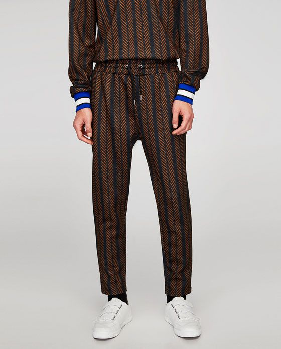 SOFT PRINTED TROUSERS-View all-TROUSERS-MAN | ZARA United Kingdom