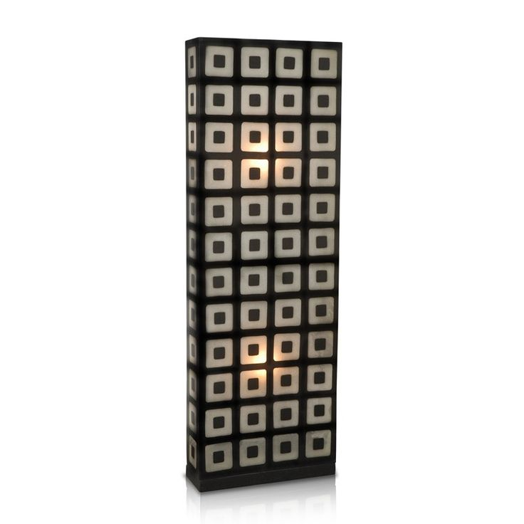 Crafted Home Decorative Gardner Geometric Transitional Floor Lamp