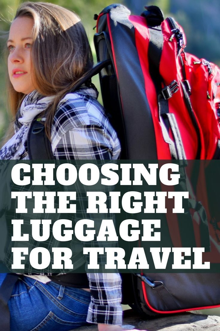 8b1cf2a6b010 Travel luggage ideas for four different travel styles - from suitcases