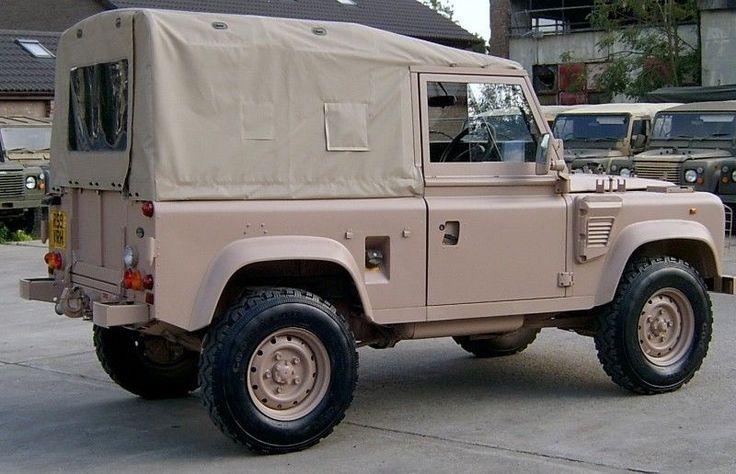 Land Rover Wolf Hood OEM RRC8709-SAND