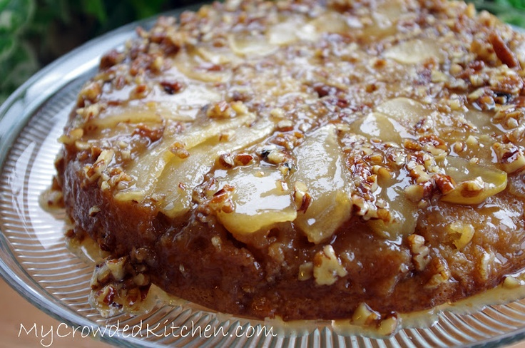 Apple Pecan Upside Down Cake | Upside Down Cakes | Pinterest