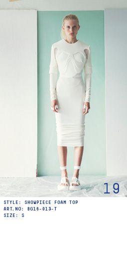 BEATE GODAGER // DISEMBODIED SS2016 // Photo : Erika Svensson  #beategodager #beategodagerss16 #scandinavian #conceptual #womanswear #ss2016 #lookbook