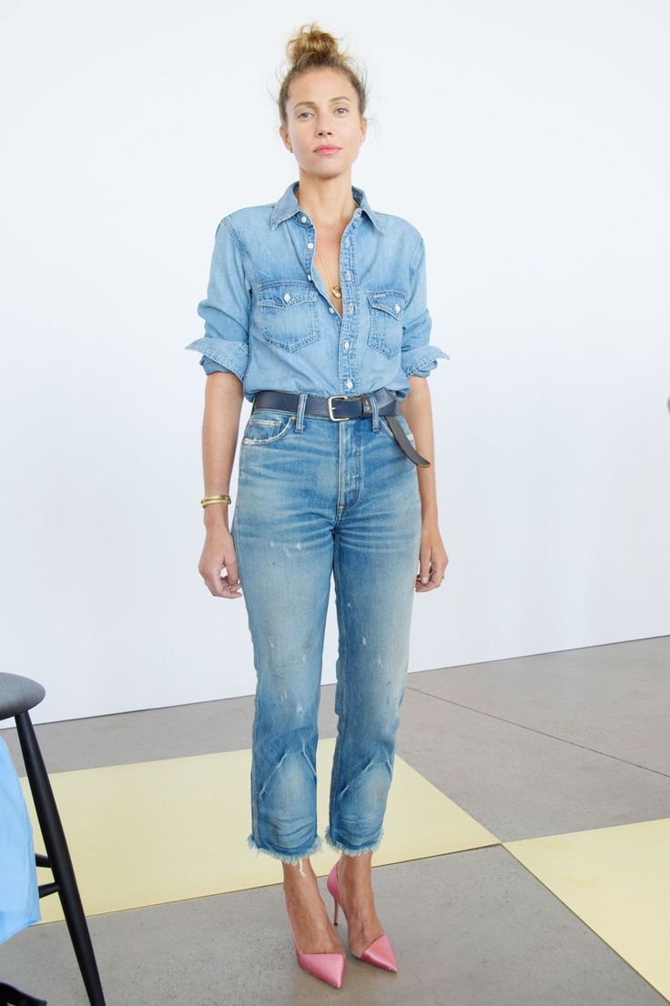 Love an all denim look and these shoes make it even more fabulous