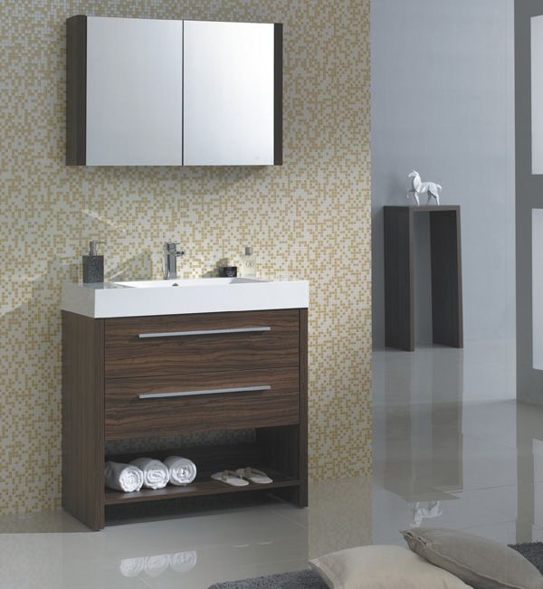 Best Small Bath Modern Vanities Images On Pinterest - 36 x 19 bathroom vanity for bathroom decor ideas