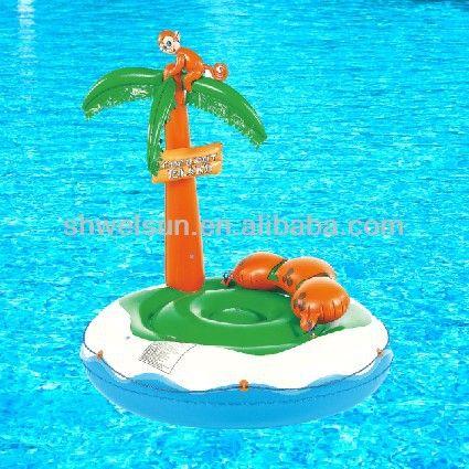 Coconut Pool Float Inflatable island