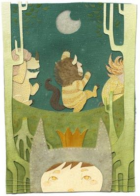 """A whole blog dedicated to artwork from """"Where the Wild Things Are""""... Thanks for all the inspiration you gave so many Mr. Sendak."""