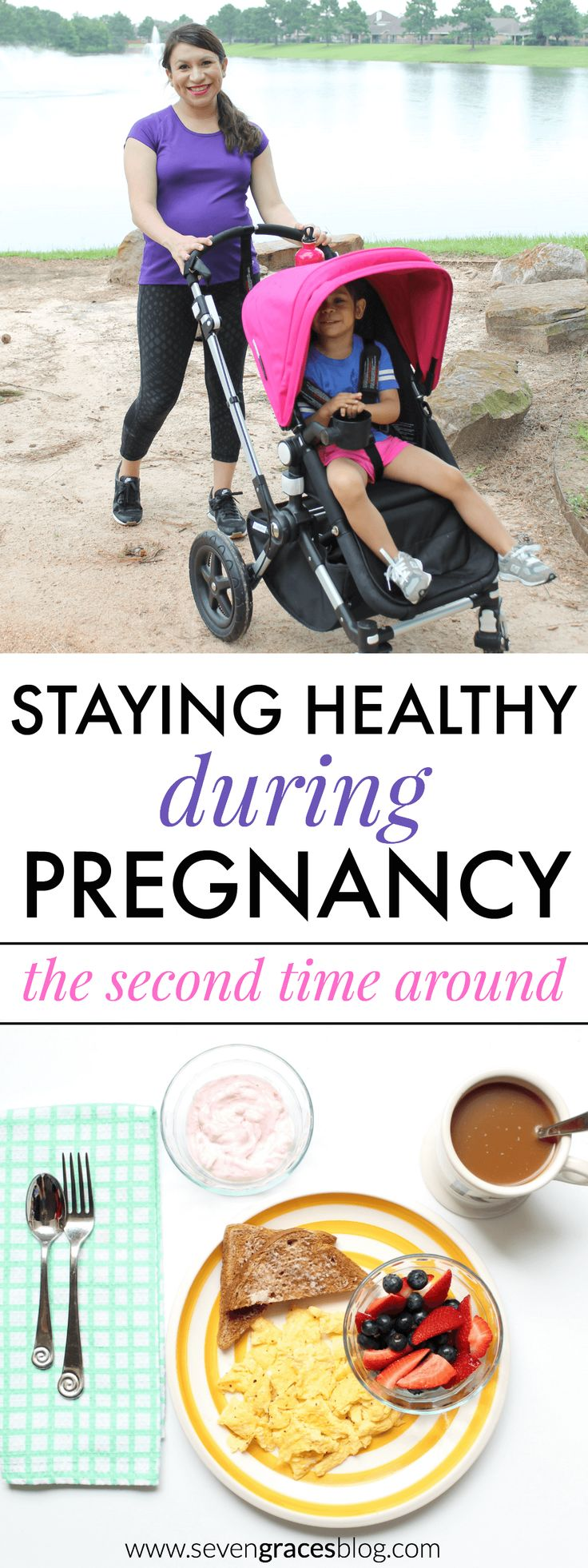 Staying Healthy During Pregnancy: the second time around. How one mom stays fit using basic health tips to navigate her pregnancy journey. #foodsciencematters #Pmedia #ad