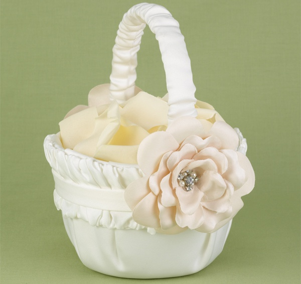 Love Blooms Flower Girl Basket