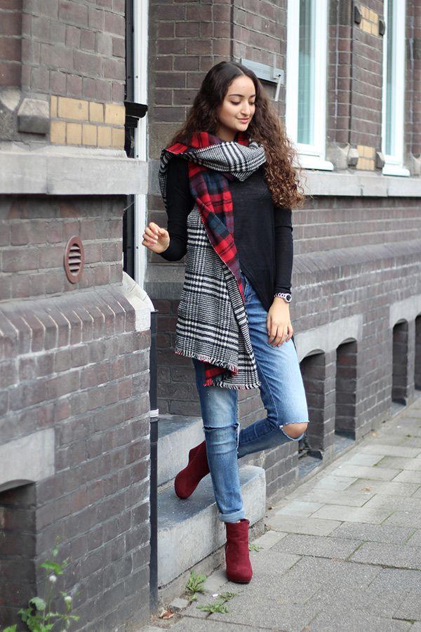 Karierter Schal von Zara - Bilder - Jolie.de