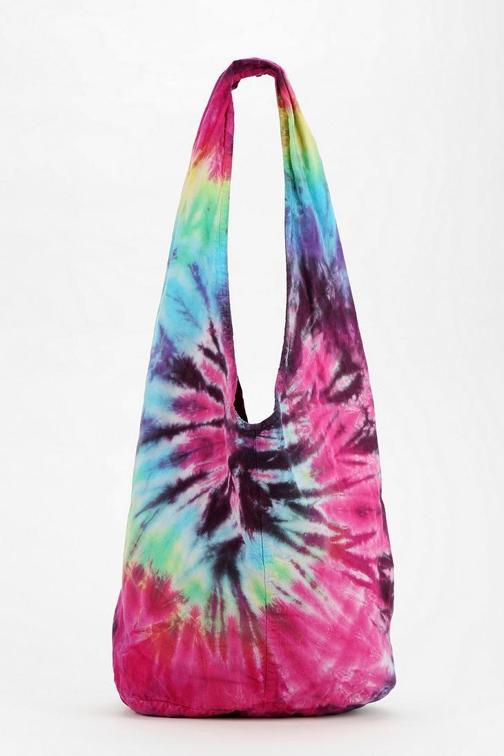 Urban Renewal Tie-Dye Hobo Bag #urbanoutfitters