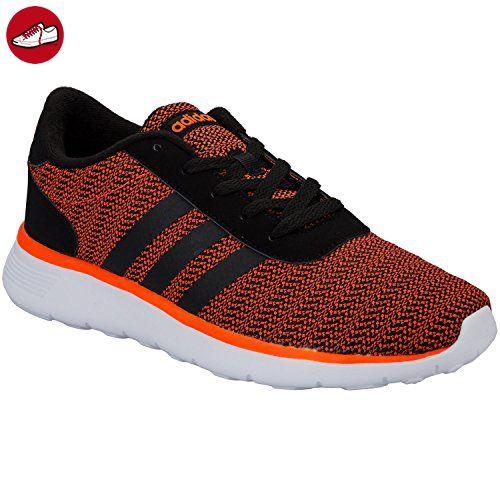 adidas  Lite Racer,  Herren Sneakers , Herren, ADIDAS NEO LITE RACER, Orange - Orange (Orange-Schwarz-Weiß), 43 1/3 - Adidas schuhe (*Partner-Link)
