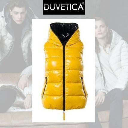 DUVETICA ダウンベスト Duvetica febe イエローで鮮烈な彩りを添えて ダウンベスト