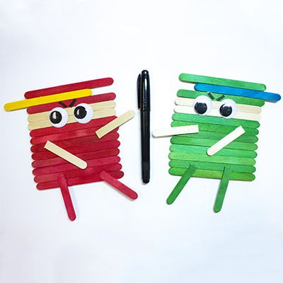 Explore the alphabet with our A to Z Crafts! N is for Ninjas and is perfect for teaching your little ninjas about the alphabet and letter recognition.