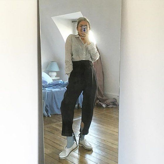 French Writer Sophie Fontanel's Guide to Personal Style and Mirror Selfies - Vogue