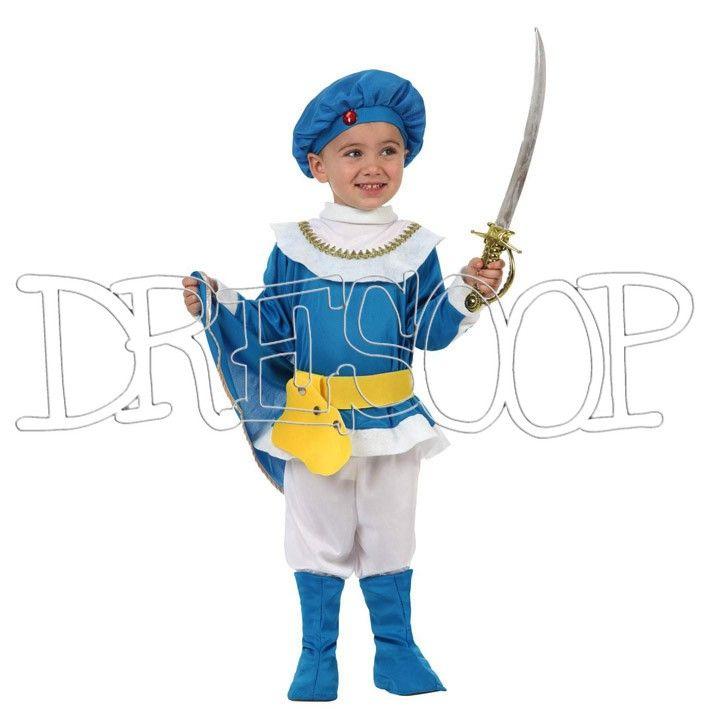 Disfraz Principe Azul para niño - Dresoop.es