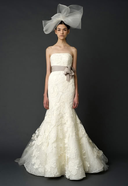 Vera Wang. Obviously without the crazy hat and belt.