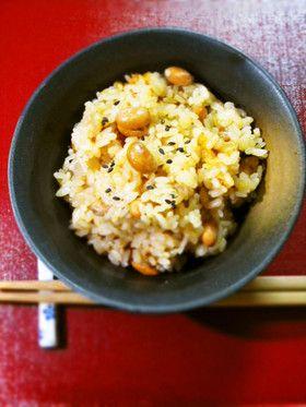 炒り豆入り茶飯♪ by shimaru [クックパッド] 簡単おいしいみんなの ...