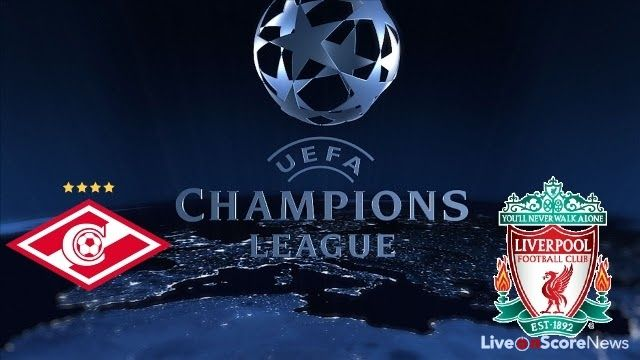 K.O 1.45 Spartak Moskva vs Liverpool live streaming champions league http://ift.tt/2ht9DGg EPL Liverpool Match UCL