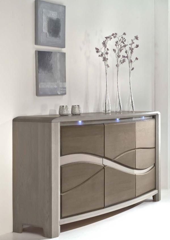 French Oak Sideboard Read More:  Matching Our Popular Dining Table And New  To Piper Chatfield, This Modern, Bow Front, Contemporary Sideboard, ...