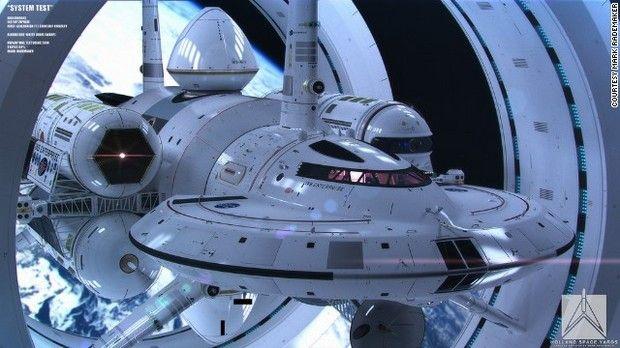 ワープ実現の宇宙船 NASA「IXSエンタープライズ」