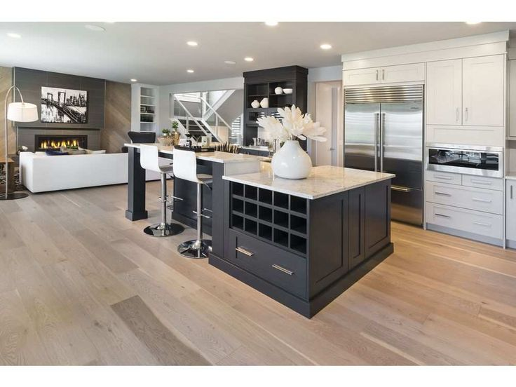 fifth avenue designer white oak lauzon hardwood flooring - Grey Hardwood Floors