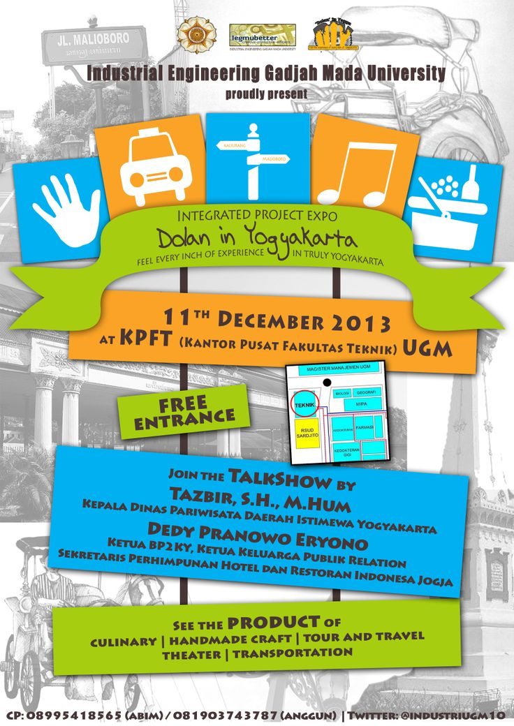 Come and enjoy, Integrated Project Expo by the last grade of Industrial Engineering Gadjah Mada University. 11th December 2013. Don't miss it!