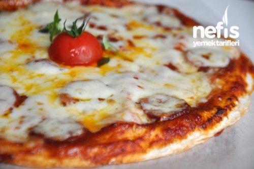 Lavaş Pizza Fotoğrafı