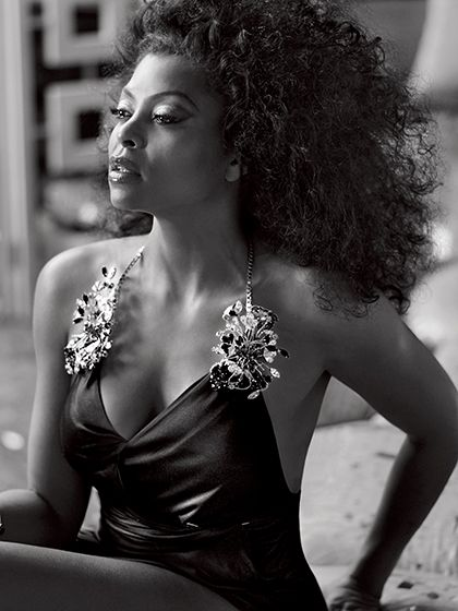 Taraji P. Henson Gets Honest About Why She Doesn't Date Her Costars (Taraji P. Henson Allure July 2015 photo shoot)