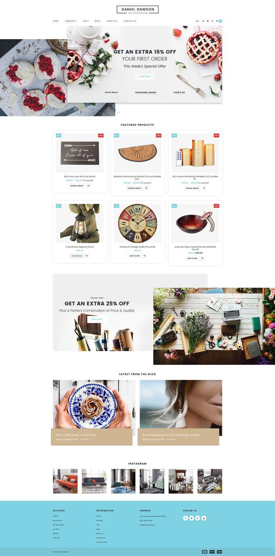 Home Decor Responsive Shopify Theme #65551