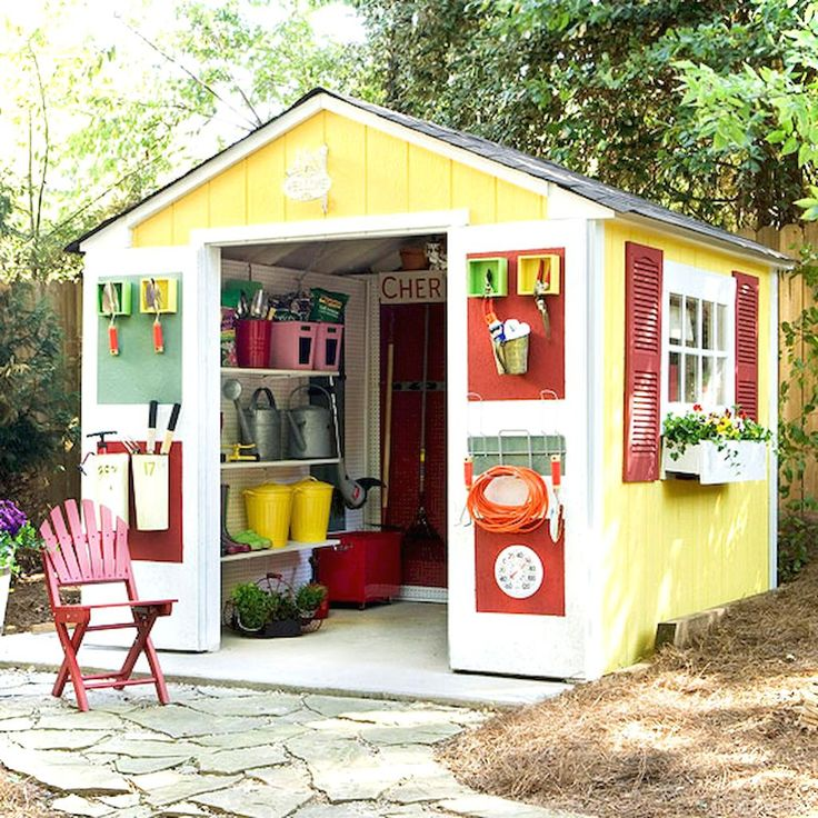 73 Best Shed Ideas Images On Pinterest