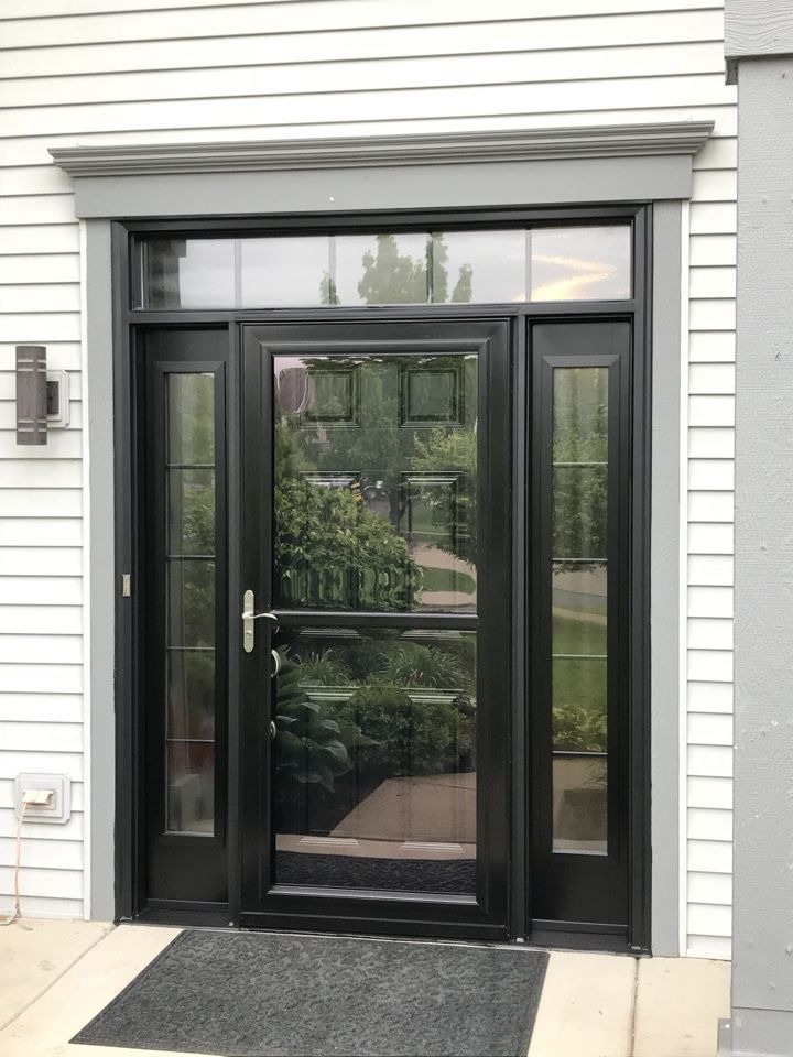 What A Great New Provia Signet Entry Door With Sidelites Transom