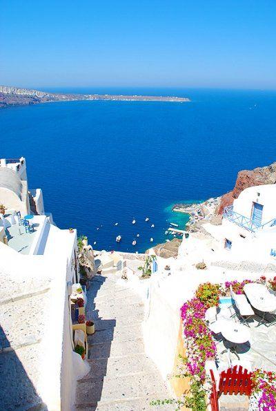 Oia, Greece, at the top of my bucket list!http://www.greece-travel-secrets.com/Santorini.html