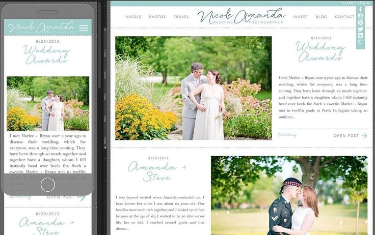 Super excited to share a sneak peek of the new blog & mobile design that's coming along. May be a little while because I'm being a perfectionist and keep discovering new features but hopefully out before the first wedding of the season!  @showit.co is the bomb!  #naweddings | https://www.instagram.com/p/BEzABWfqukn/