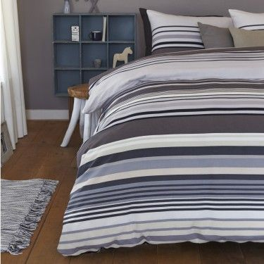 Dekbed Beddinghouse Beachport Bluegray Flanel, Bedsupply.eu, €49,95