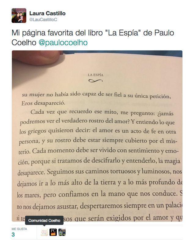 Cada momento debe ser vivido con sentimiento y emoción porque si tratamos de entenderlo la magia desaparece - vía www.instagram.com/ComunidadCoelho | Comunidad Coelho: tu punto de encuentro con los fans de Paulo Coelho