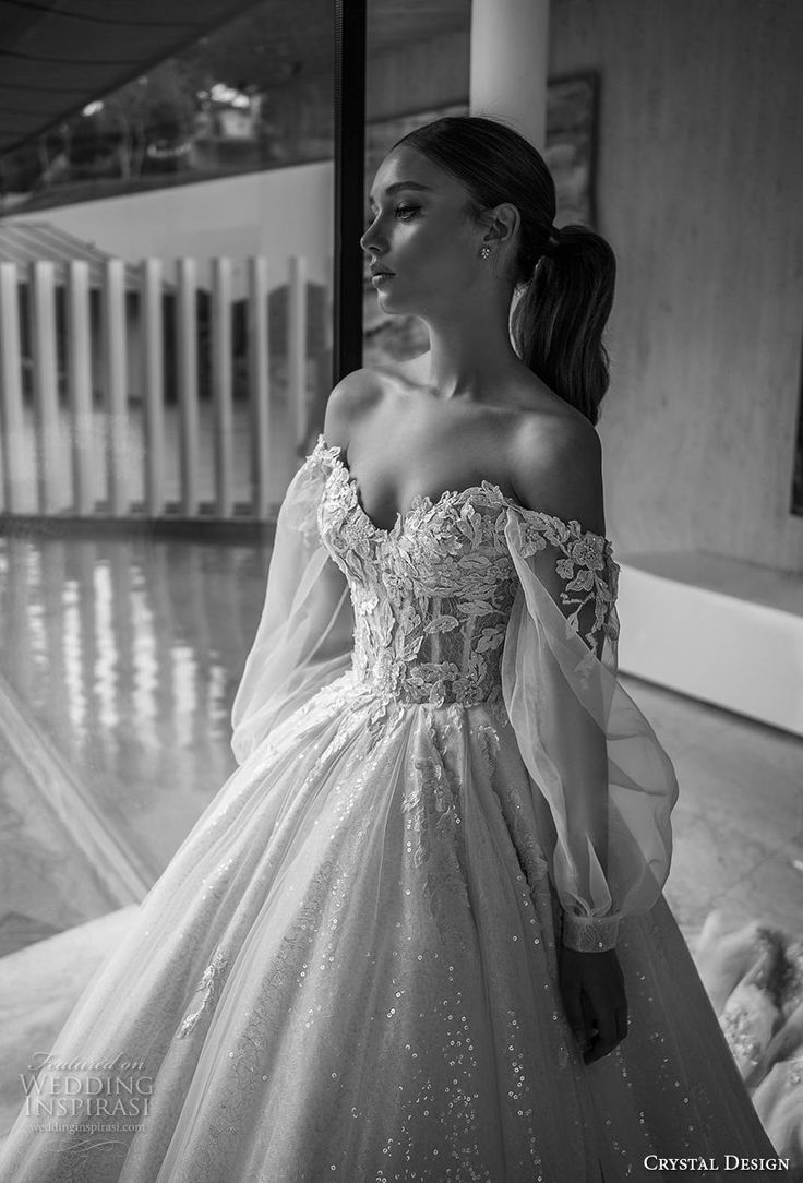 """Crystal Design 2019 Wedding Dresses - """"The Icon"""" Bridal Collection"""