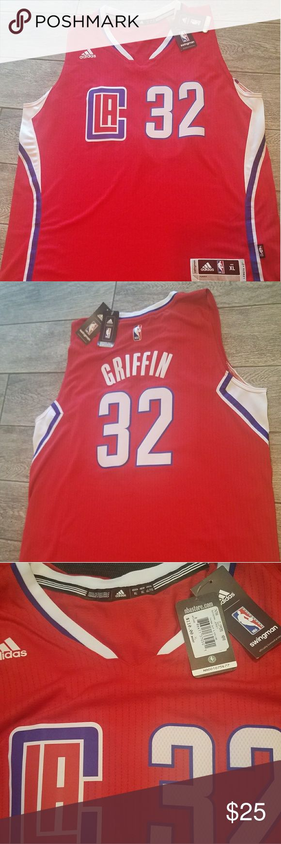 Los Angeles Clippers Blake Griffin jersey Brand new with tags Blake Griffin jersey adidas Shirts Tank Tops