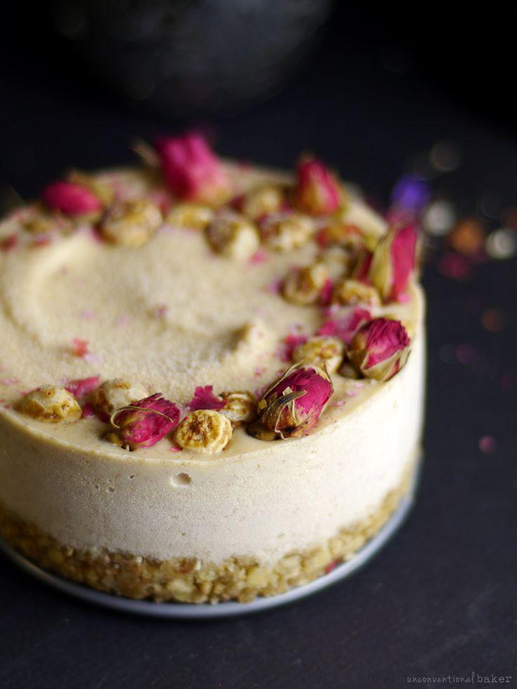 Raw Tigernut Cheesecake (Free From: nuts, dairy, gluten & grains, refined sugar)