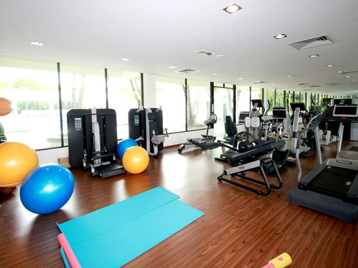 The Fitness Room at The Orchard Wellness is equipped with the top-of-the-line Italian gym equipment from Technogym. #technogym #italy #fitness #gym