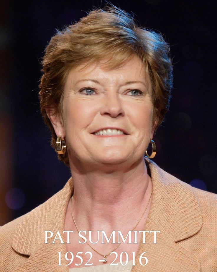 pat summitt Find great deals on ebay for pat summit and pat summitt shop with confidence.