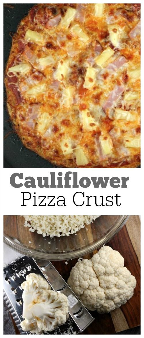 Cauliflower Crust Hawaiian Pizza Recipe — Dishmaps