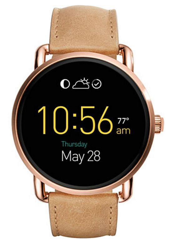 Does anyone know what time it is?! Time for YOU to get a watch—and not just any watch, but a tech-savvy, touchscreen smartwatch by Fossil!   Go on, get yourself some new arm candy!
