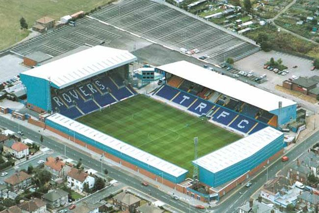 Tranmere Rovers F.C. - Prenton Park - 16.567 tilskurer