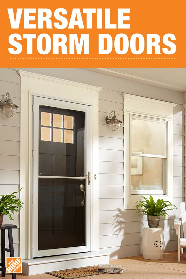 Install a storm door that's prepped for easy assembly. The Andersen 2500 Series Self-Storing storm door brings the outdoors in with a one-hand retractable insect screen for fresh air and sunshine. Weather stripping lines all sides of the door to help reduce drafts and help save on energy costs. Click to shop Andersen storm doors.