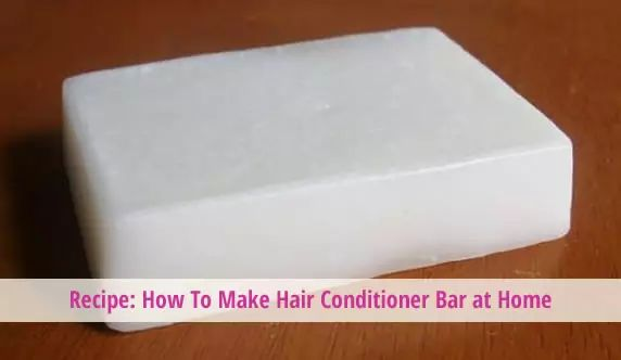 Hair Conditioner Bar Recipe